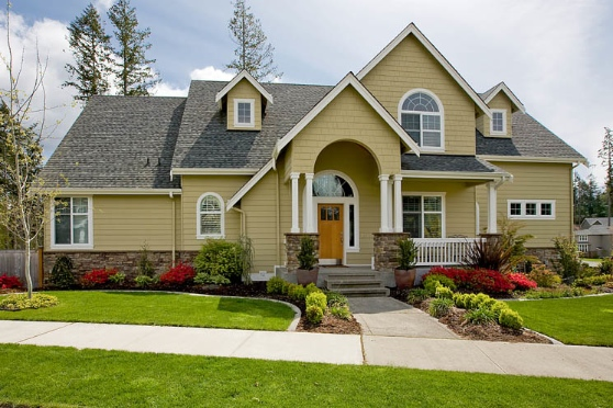 house with great curb appeal