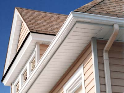 soffits on a house
